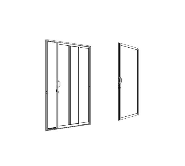 Rouge Sliding/Patio Door